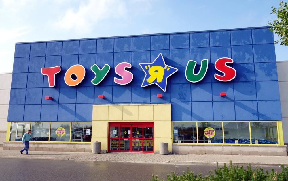 Toy R Us, una delle più grandi catene di negozi, dichiara bancarotta