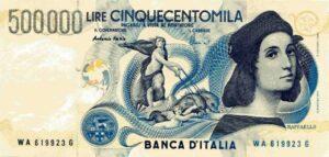 Banconote da 500.000 Lire: sapevi che alcune valgono migliaia di euro?