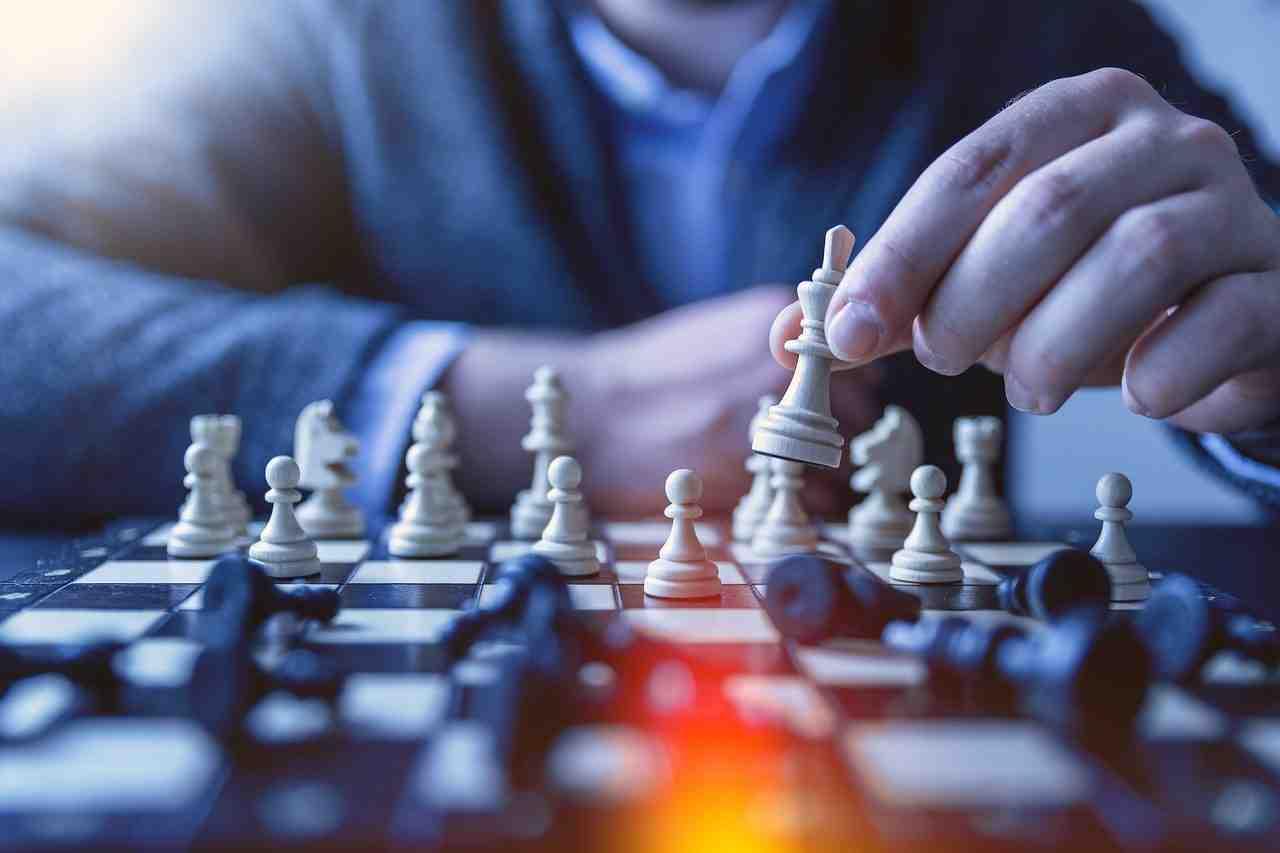 giocatore scacchi