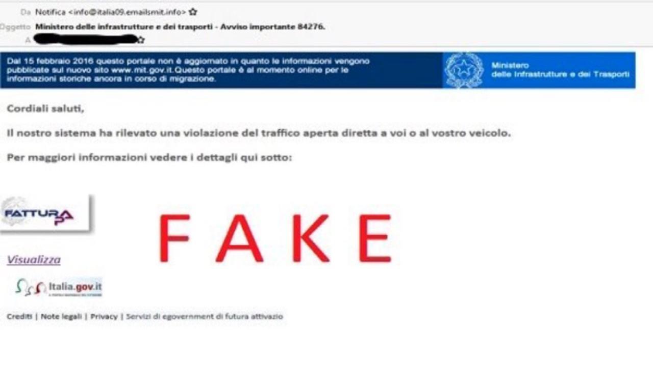 mail fake