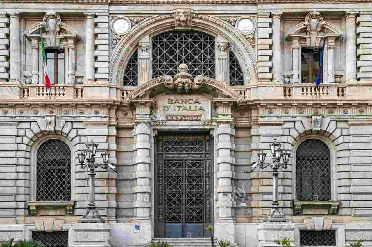 Banca d' Italia contanti