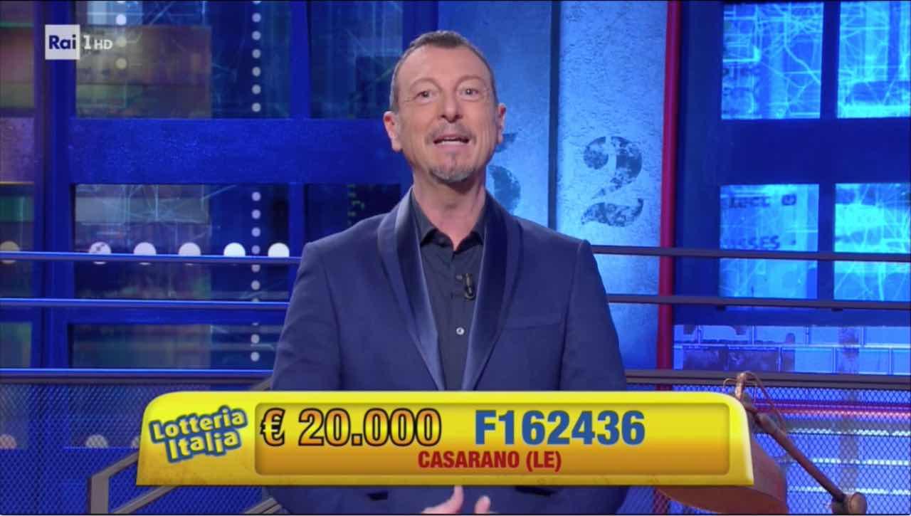 Lotteria Italia Amadeus