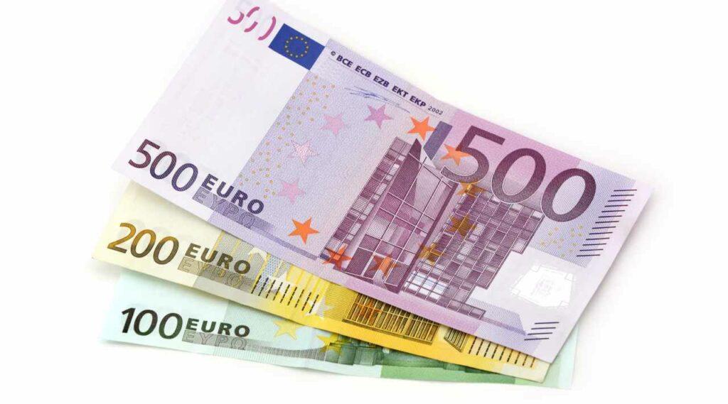 800 euro soldi