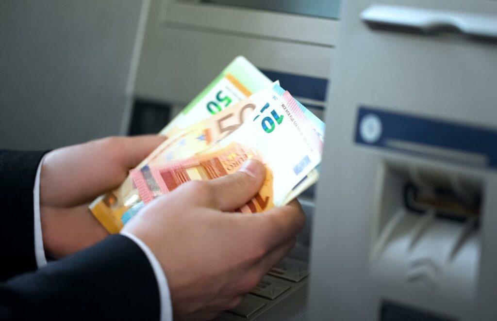 bancomat, prelievo, contanti