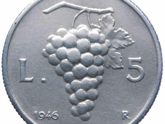 5 lire uva