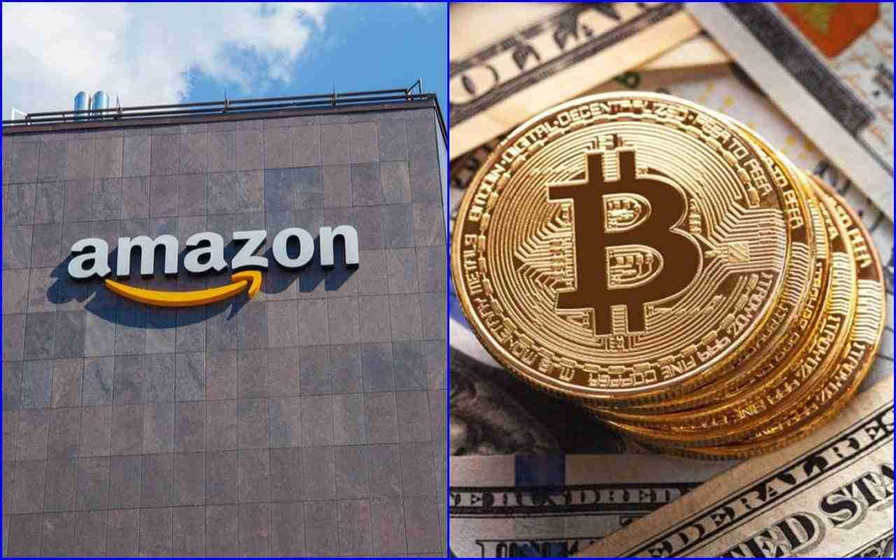 Amazon accetterà Bitcoin e si prepara a sviluppare la sua criptovaluta.