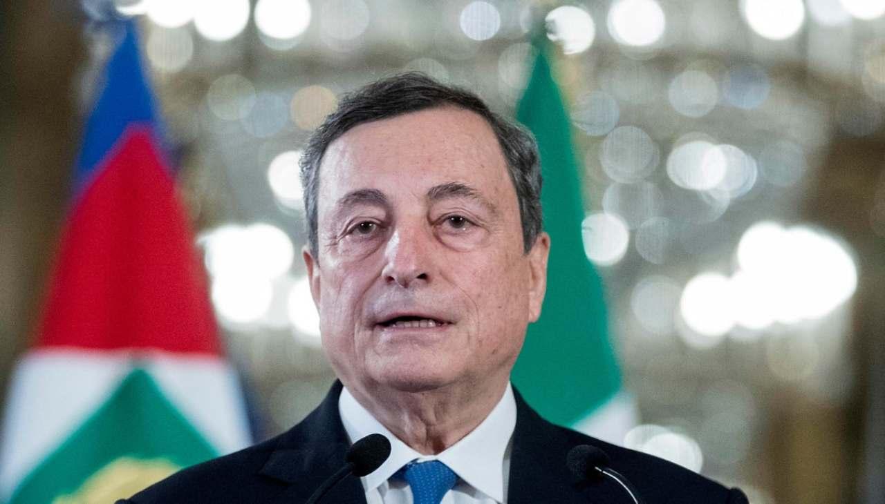 Mario Draghi sul Reddito di cittadinanza: