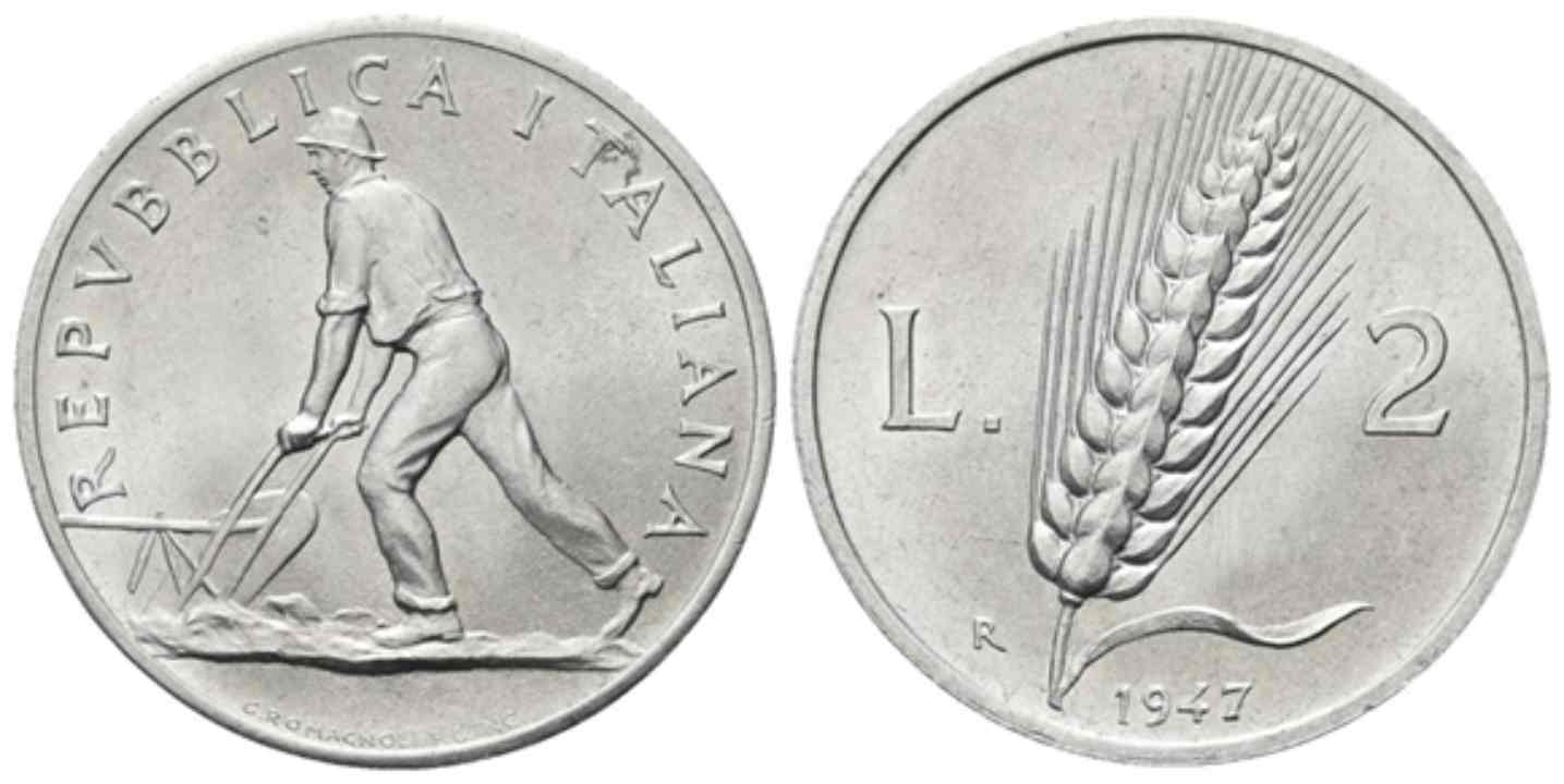2 lire 1947
