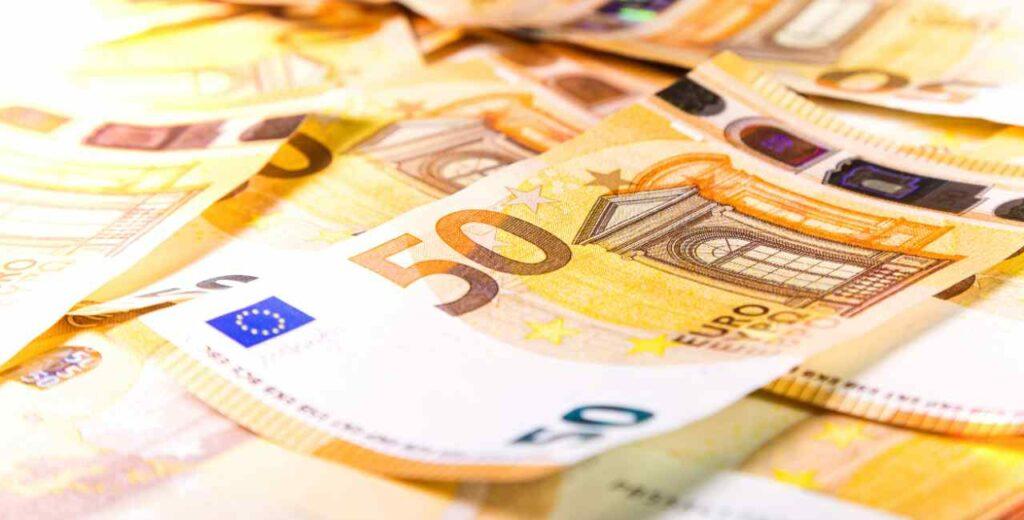 soldi banconote 50 euro