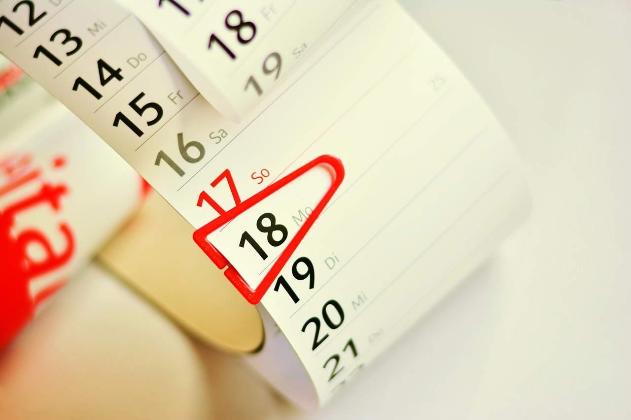 Aprile scadenze calendario