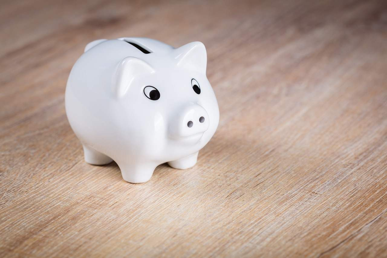 Salvadanaio risparmio conto corrente