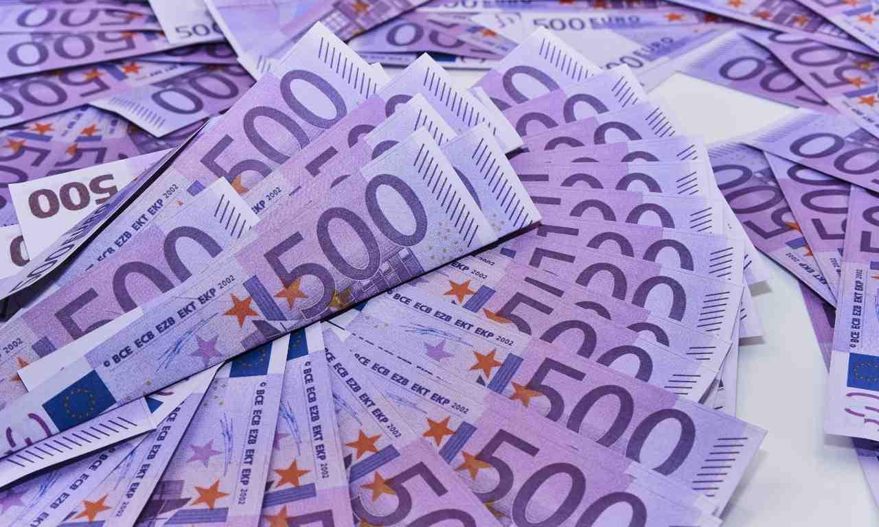 500 euro soldi