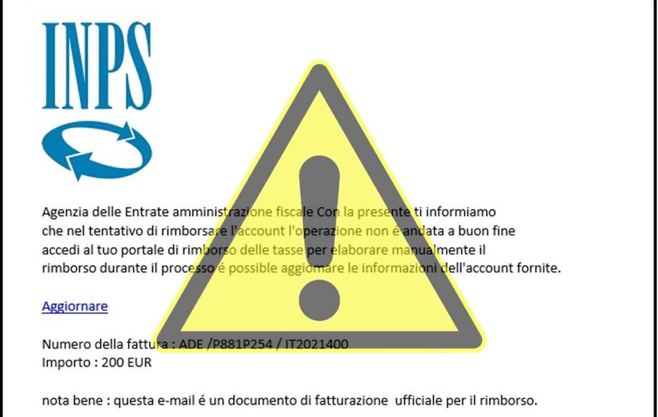 Inps phishing