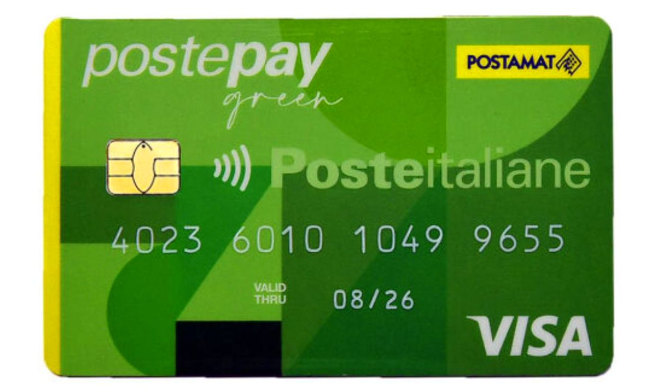 Poste pay Green