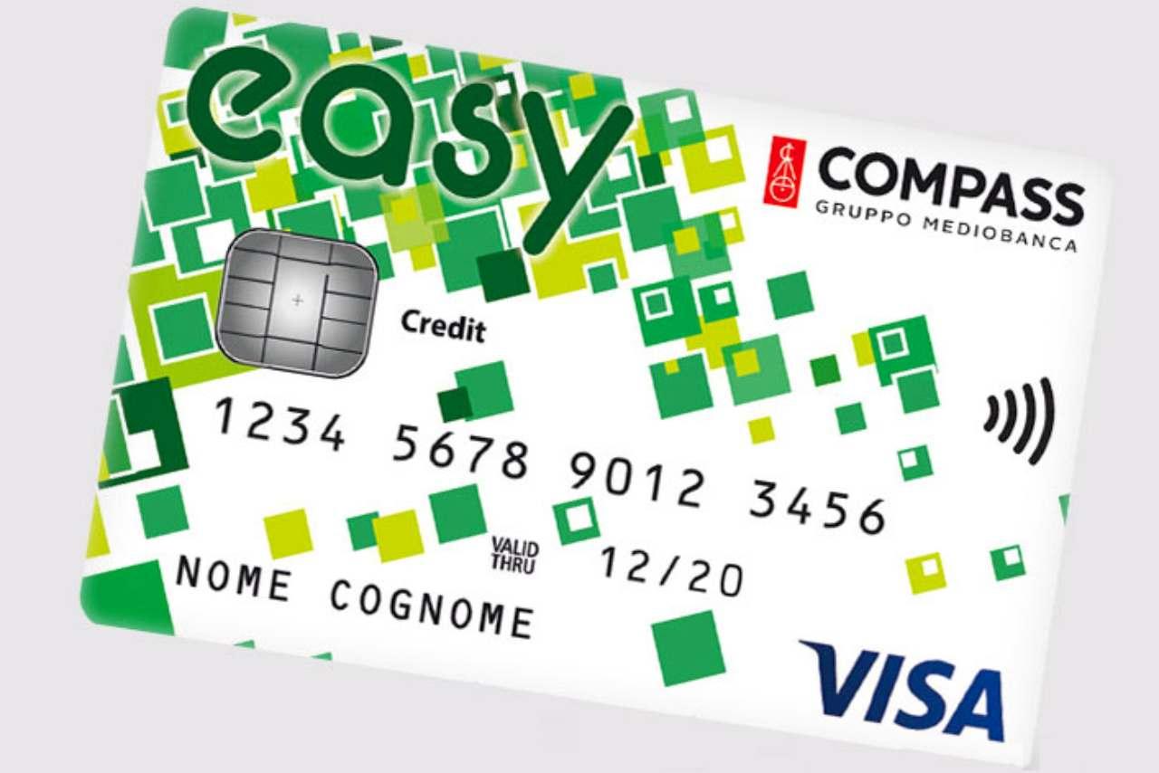 carta credito compass easy