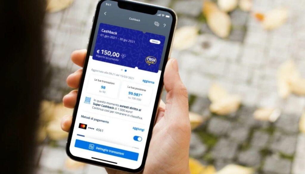 Cashback, stop app io