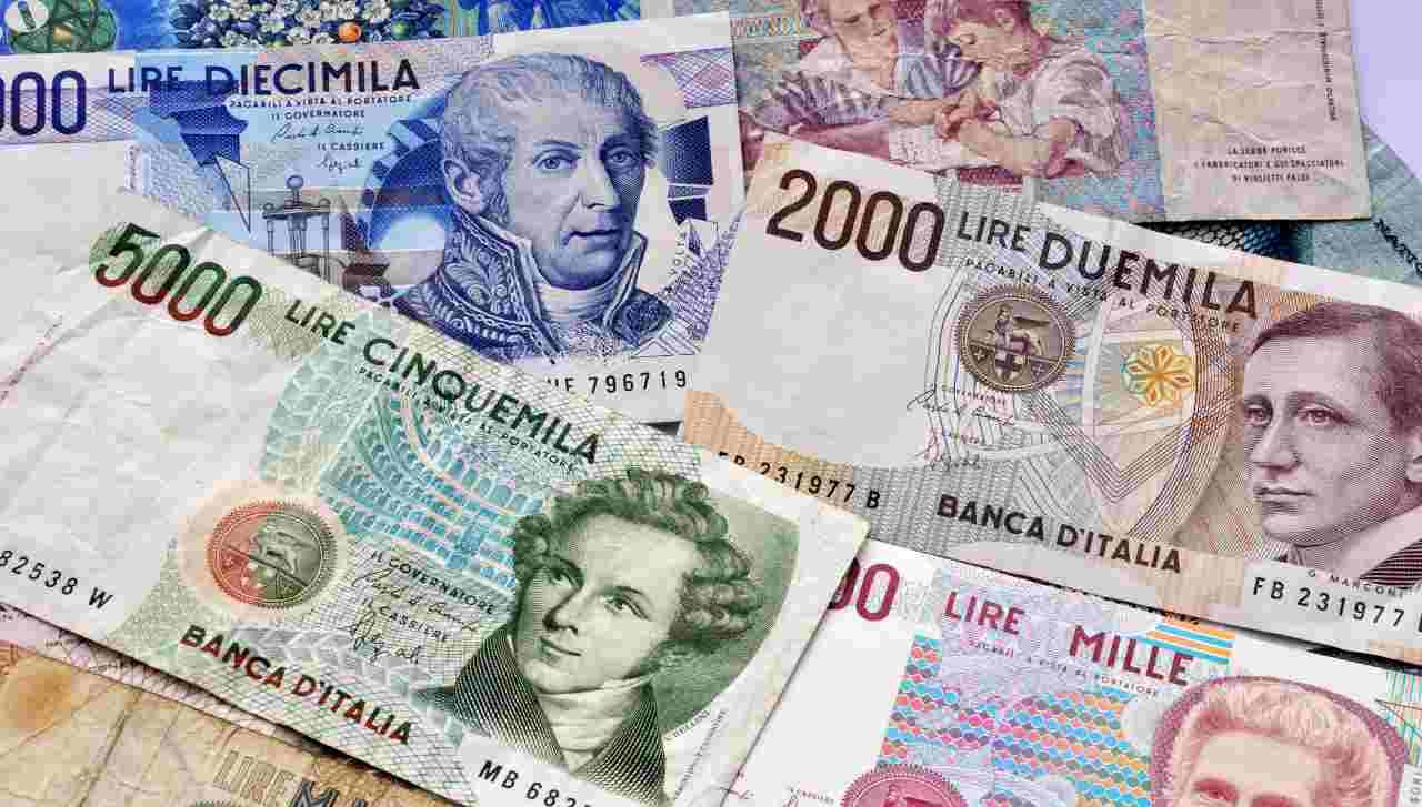 Lire banconote