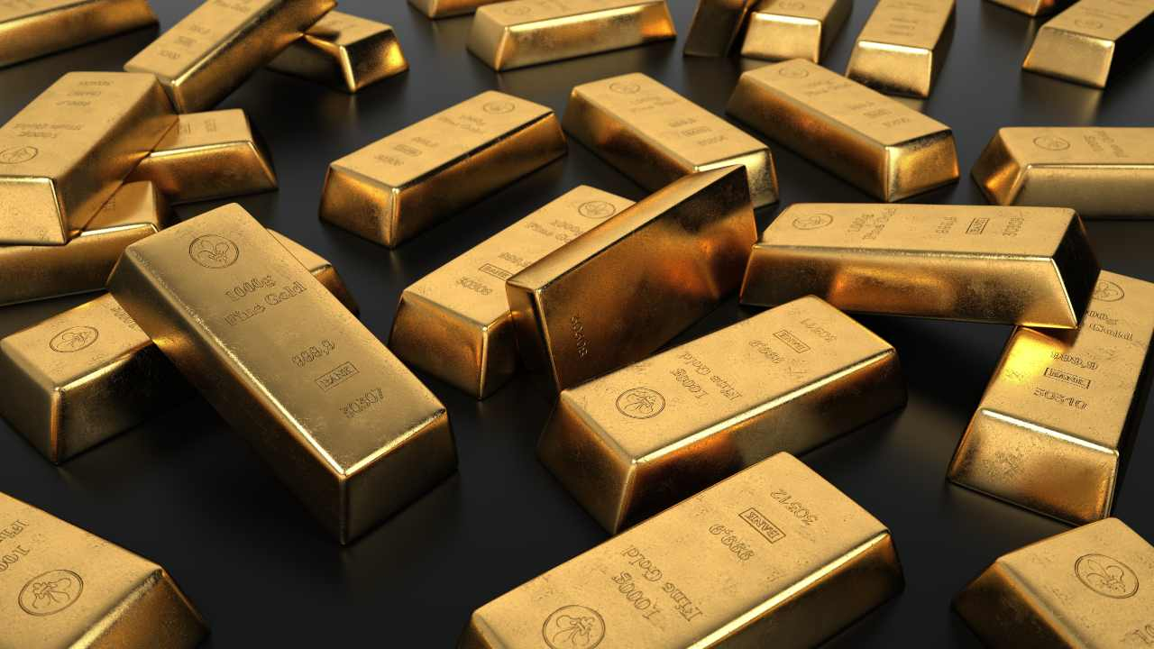 pezzi di oro