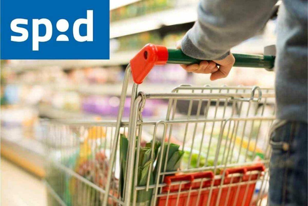 Spid al supermercato
