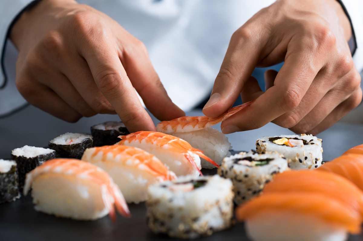 Sushi ristorante giapponese