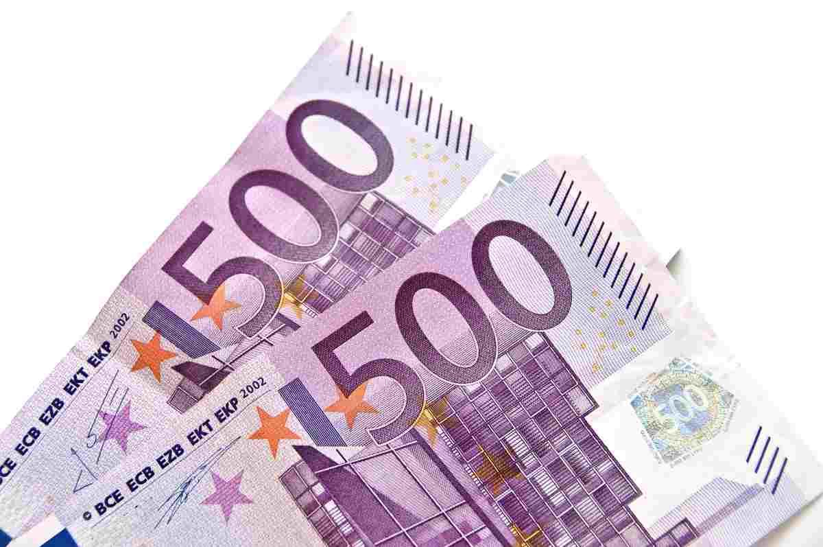 Mille euro prelievo