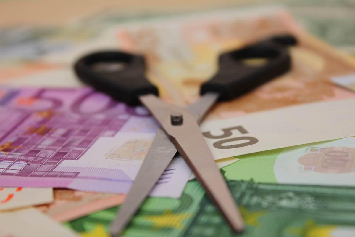 Euro taglio bollette