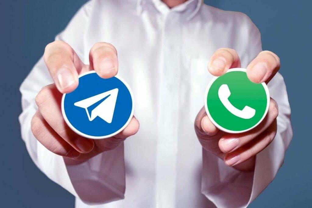 Telegram e Whatsapp avviso