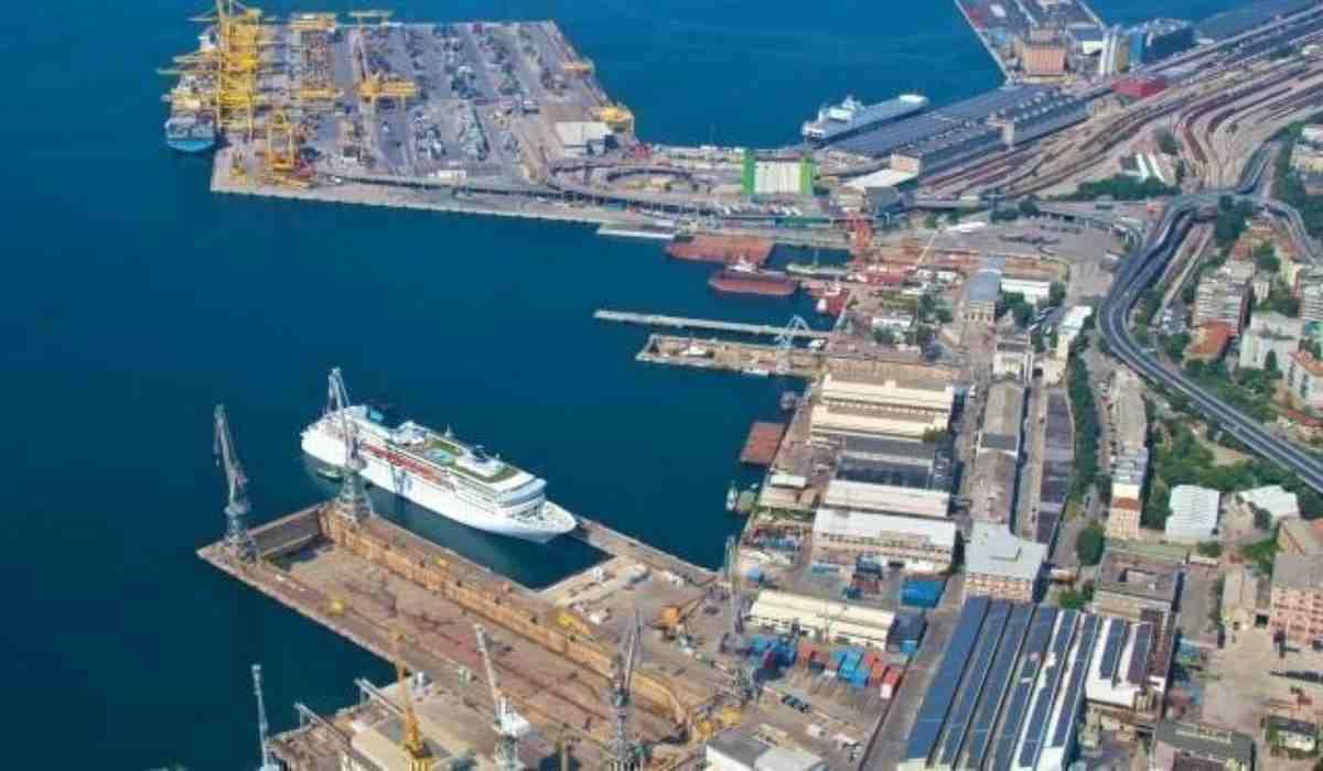 porto Trieste Blocchi
