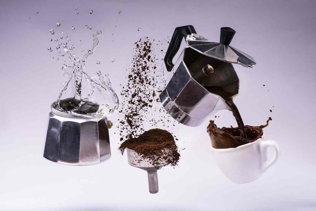 preparare buon caffè
